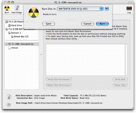 Part 1. Using Finder on Mac to Burn ISO to DVD