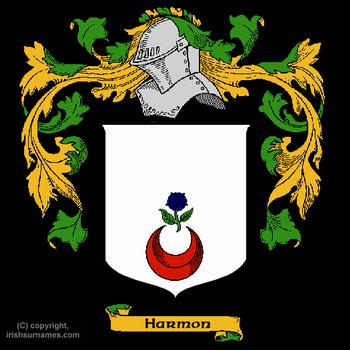 Harmon family crest