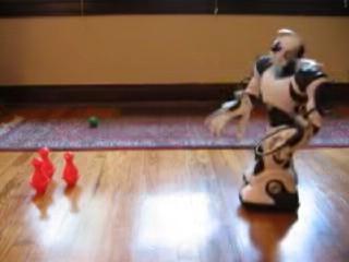 Robosapien Bowling