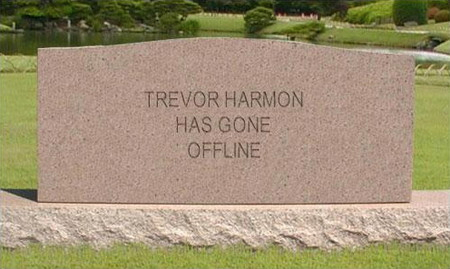 Trevor Harmon has gone offline