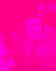 Image resized with pink tint